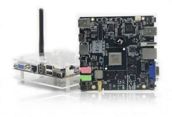 Cubieboard4 octa-core mini PC