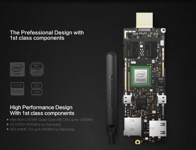 MeLE PCG01 Mini PC Stick Is A Fanless Intel Compute Stick