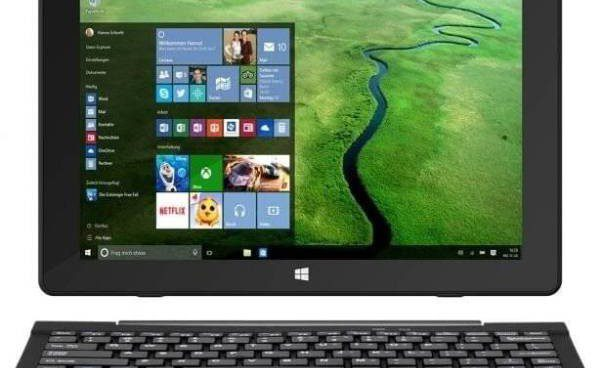TrekStor SurfTab Twin with Windows 10 and keyboard for 259 ...