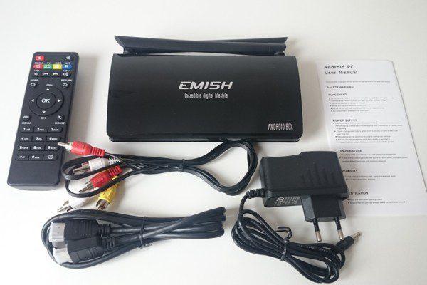 emish x800 unboxing