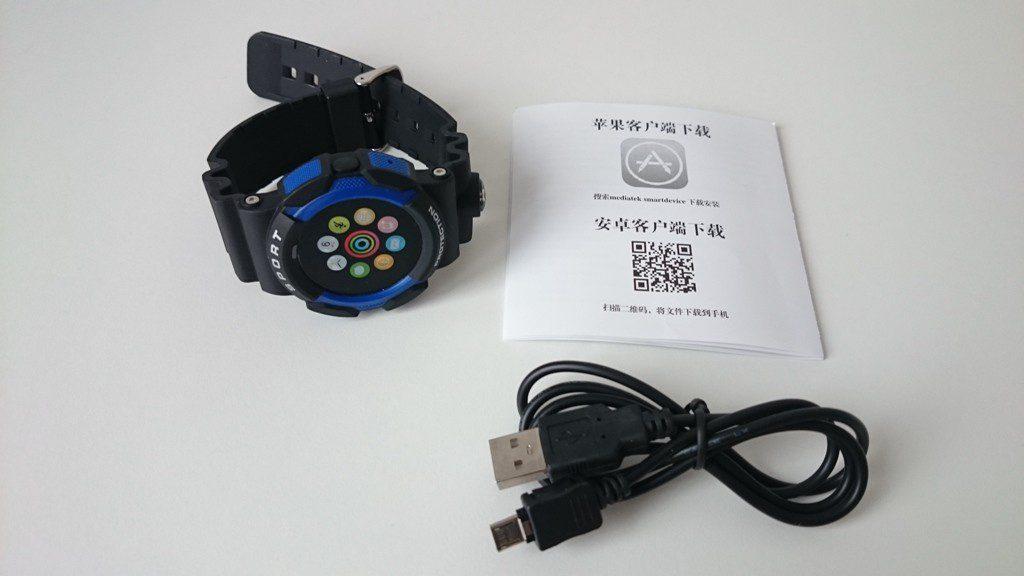 No.1 A10 smartwatch unboxing