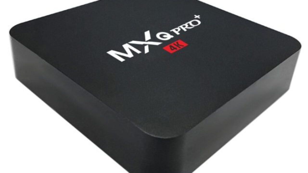 The new firmware for MXQ Pro+ (Plus) 4K TV Box with Amlogic S905X