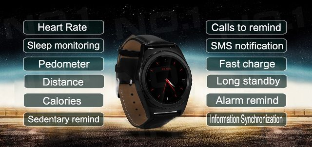 No.1 G4 smartwatch