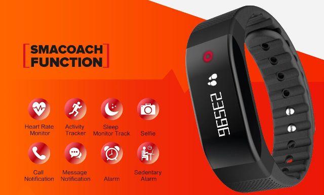 SMACOACH sport smart bracelet