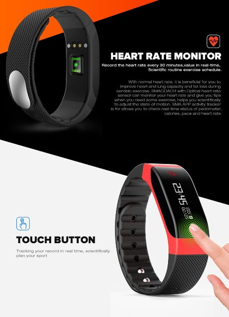 smacoach sport smartband