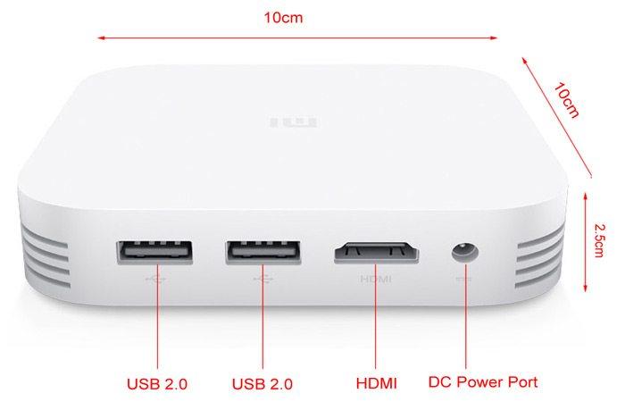 Xiaomi Mi Box 3 Enhanced Edition Tv Box With Mediatek