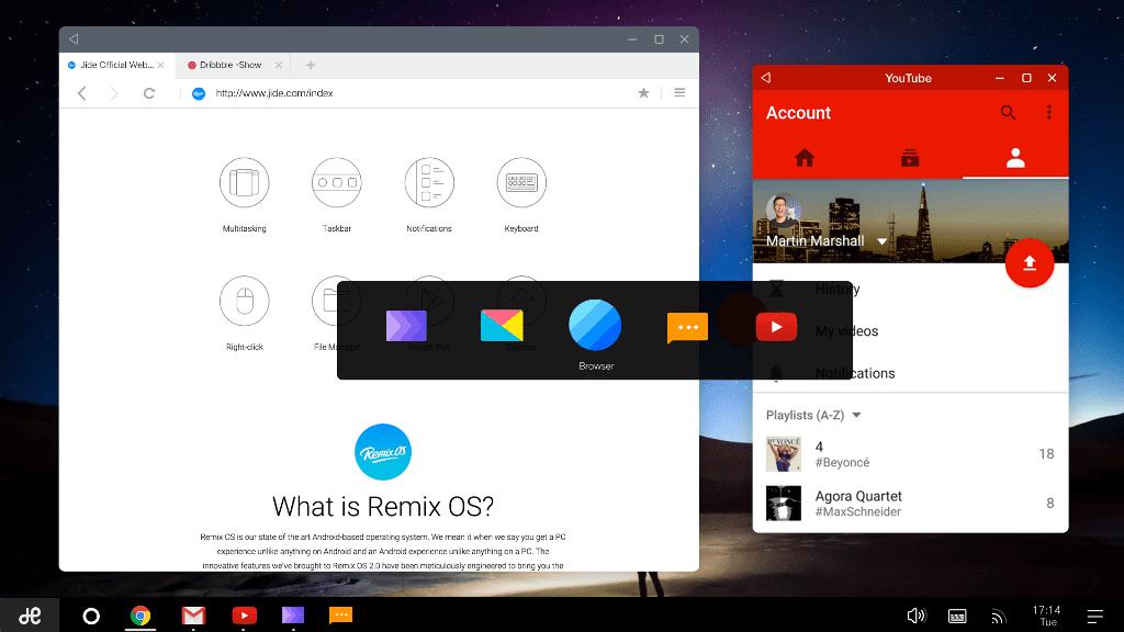 Unuiga U1 Mini Pc With Remix Os 2 0 Powered By Amlogic