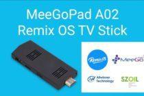 meegopad A02 remix os tv stick