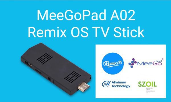 meegopad A02 remix os tv stick