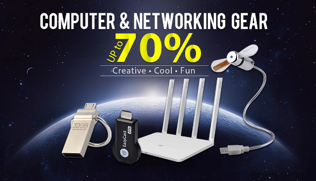 computer and networking gear