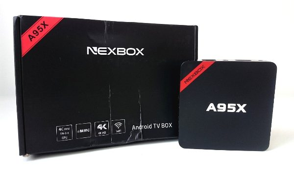 nexbox a95x unboxing