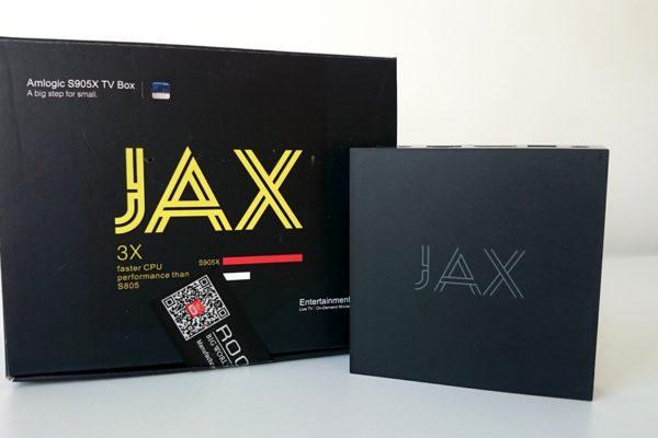 JAX tv box unboxing