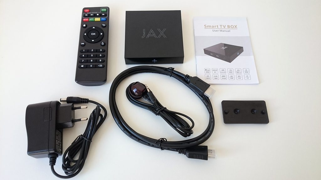 Jax TV Box unboxing