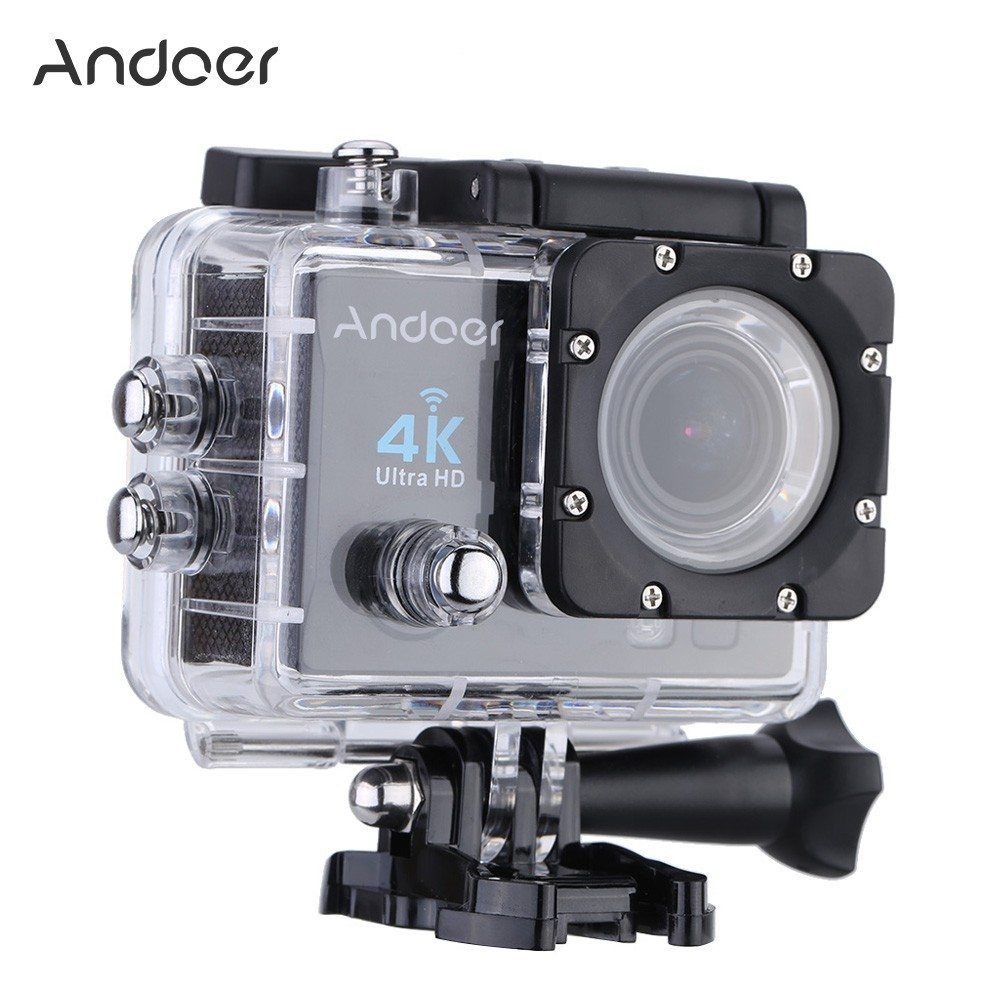 andoer action sport camera with 2 lcd features ultra hd 4k 25fps and 1080p 60fps now for 43. Black Bedroom Furniture Sets. Home Design Ideas