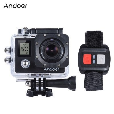 andoer 4k sport action camera support 4k 30fps with remote control now for promo. Black Bedroom Furniture Sets. Home Design Ideas