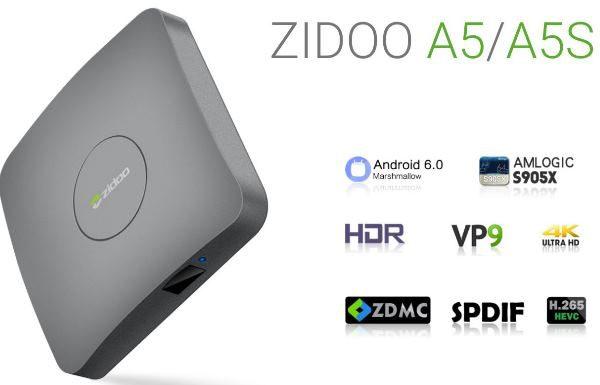 ZIDOO A5 and ZIDOO A5S