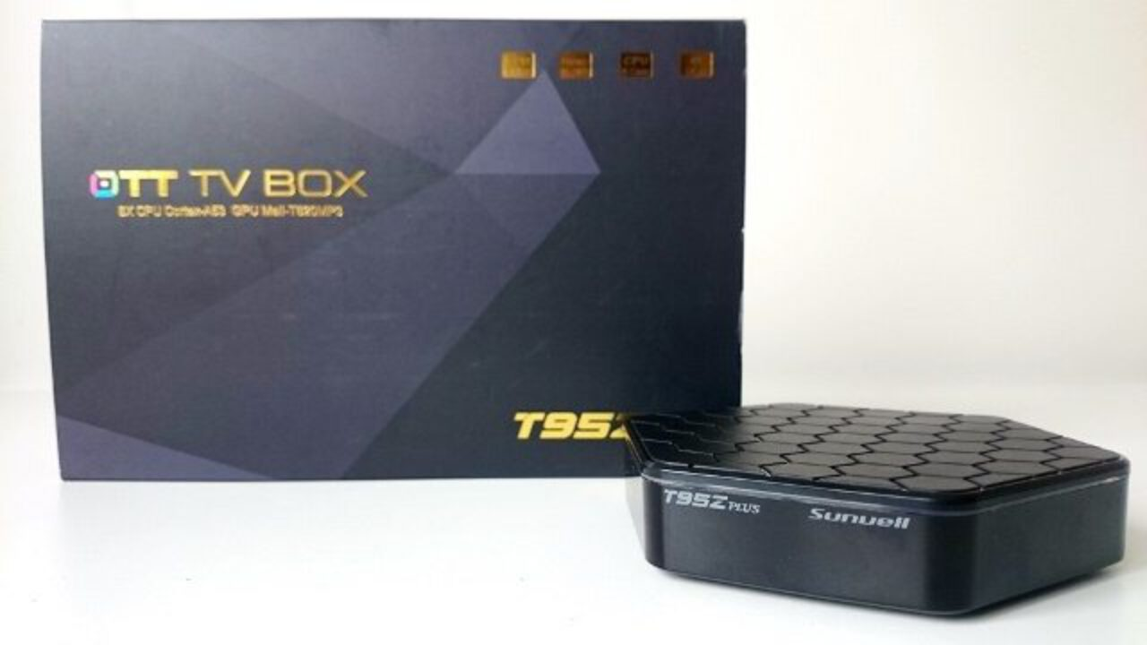 The new firmware for Sunvell T95Z Plus TV Box with Amlogic
