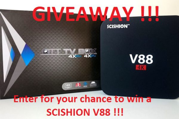 Scishion V88 giveaway