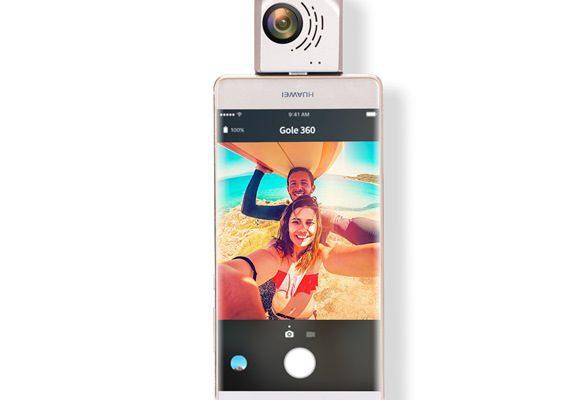 GOLE 360 Dual camera