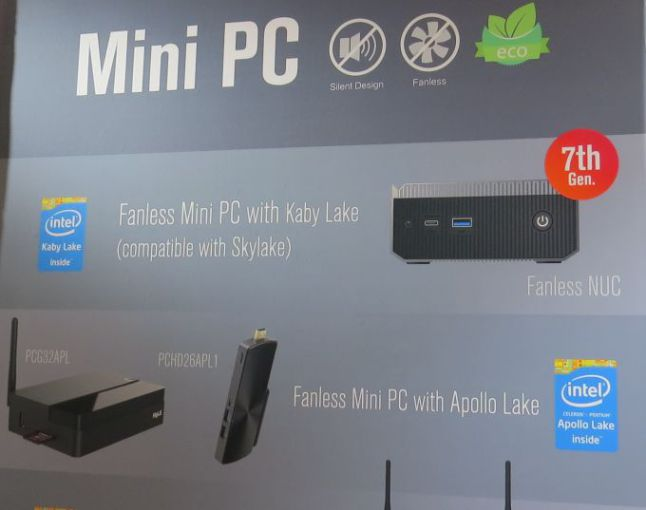 Mele Kaby lake mini pcs