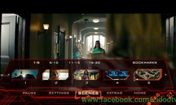 Blu ray menu