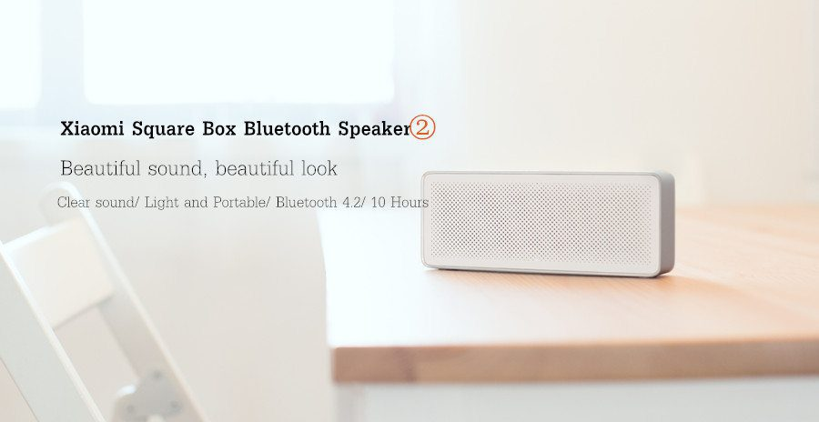 Xiaomi Square Box Ii Bluetooth Speaker With 1200mah