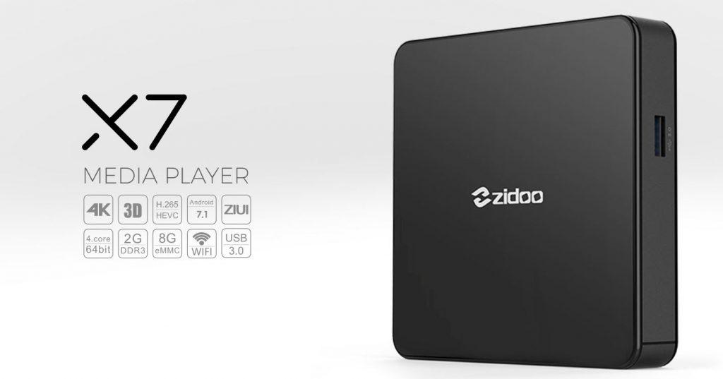ZIDOO X7