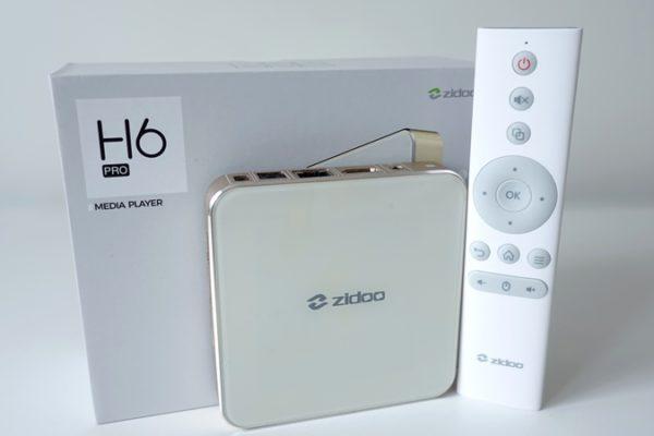 ZIDOO H6 PRO unboxing