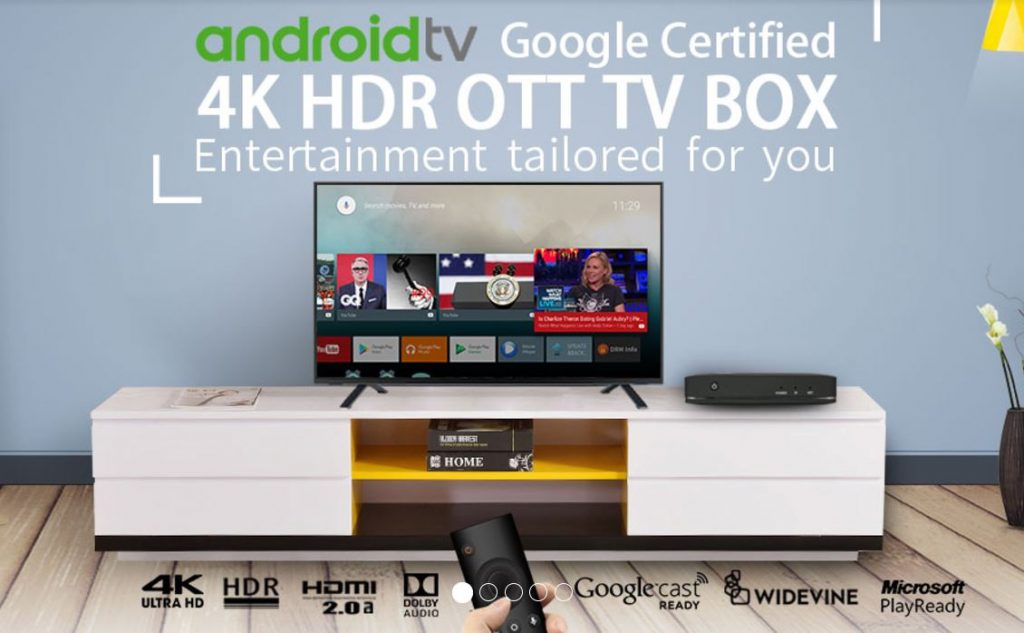 SDMC Android TV official certification