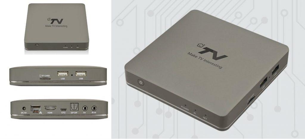 DV8219 Android TV TV Box
