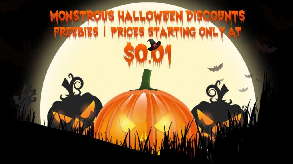 Monstrous Halloween Discounts