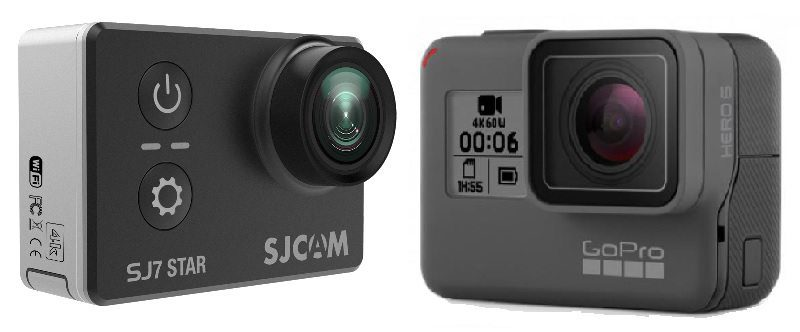 SJ7 Star vs Go Pro HERO6
