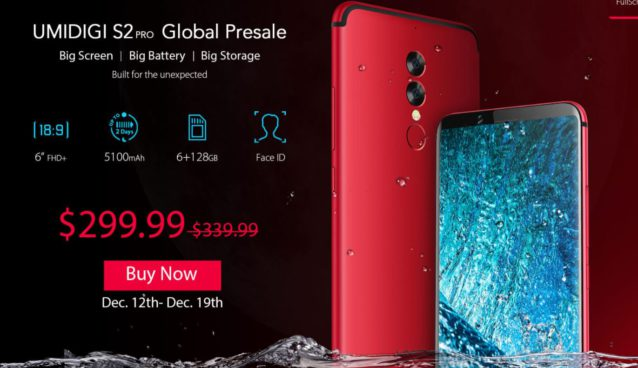 umidigi S2 Pro global presale