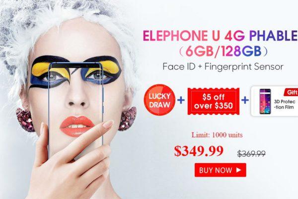 Elephone U smartphone promotion