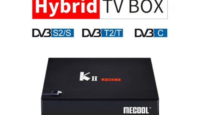 MECOOL KII PRO Hybrid TV Box