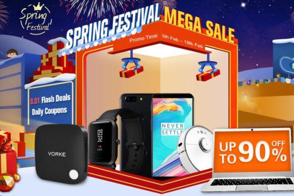 Geekbuying Spring festival Mega Sale