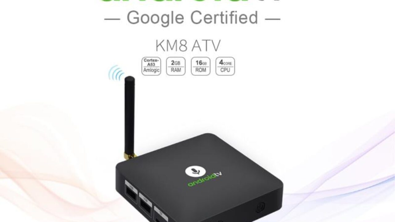 MECOOL KM8 with Android Oreo TV OS and Voice Remote (Promo)
