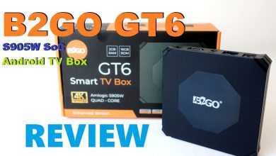 Photo of B2GO GT6 Review: Android TV Box powered by Amlogic S905W