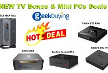 Photo of Geekbuying Promotion: New Deals for TV Boxes & Mini PCs