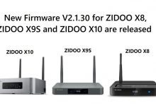 Photo of New Firmware v2.1.30 for Zidoo X8, X9S, and X10
