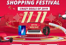 Photo of Geekbuying 11.11 Shopping Festival, Crazy Deals up to 80% OFF