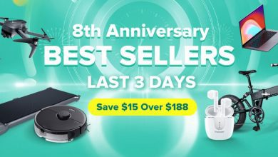 Geekbuying 8th Anniversary Best Sellers