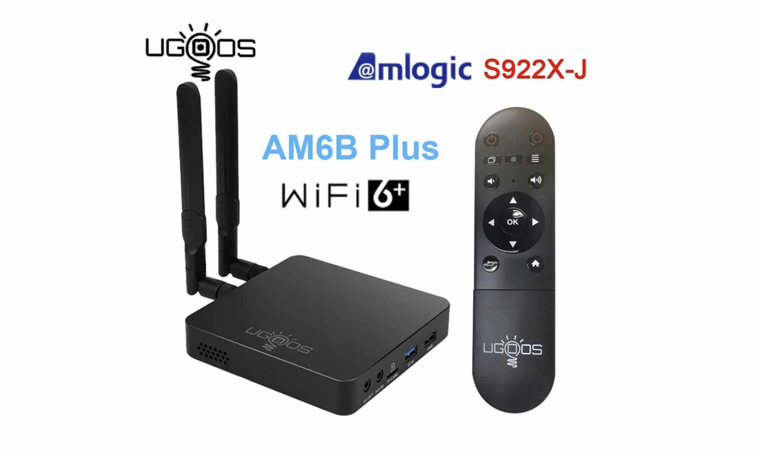 UGOOS AM6B Plus is an upgraded AM6 Plus version now with WiFi 6