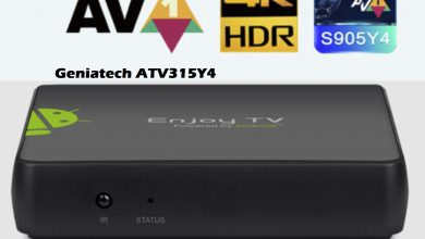 Geniatech ATV315Y4 S905Y4 AV1 decoding